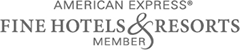 Erica Hotel is member of American Express Fine Hotels & Resorts